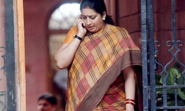 congress rejects irani s allegations on amethi land