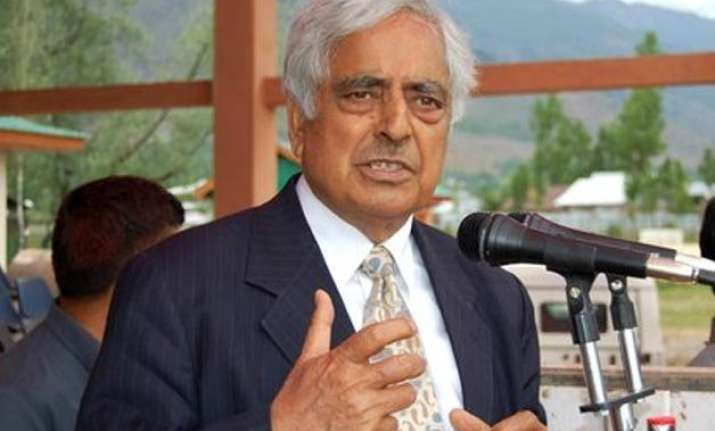 bjp condemns mufti remarks over release of political