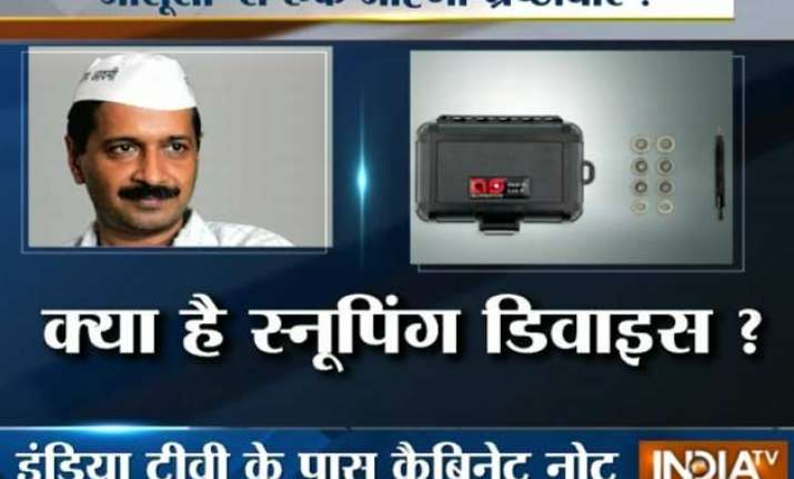 kejriwal govt to empower acb with high end snooping devices