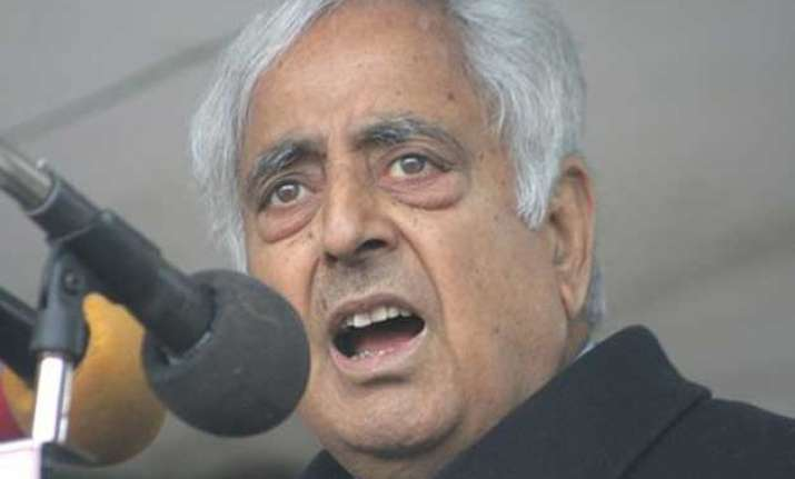 pak militants allowed conducive atmosphere for polls mufti