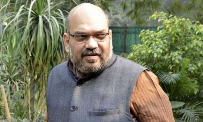 amit shah urges people to join clean india clean ganga