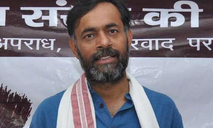 decision to expand base will strengthen aap yogendra yadav