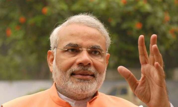 congress slams bjp over controversial rss piece asks modi