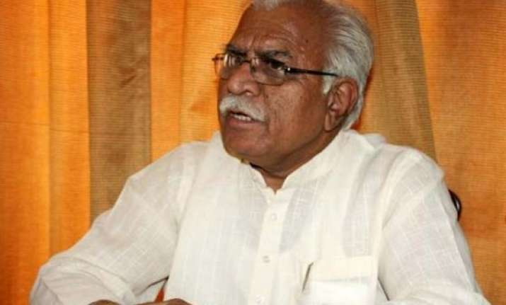 manohar lal khattar to be haryana s next chief minister