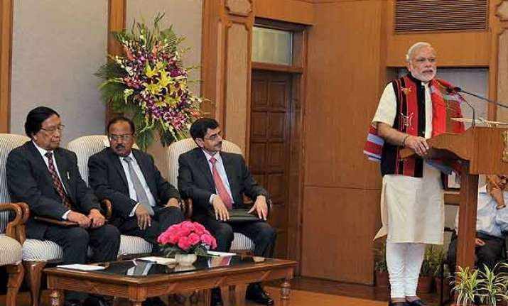 in pics nagaland accord signed promises peace after six