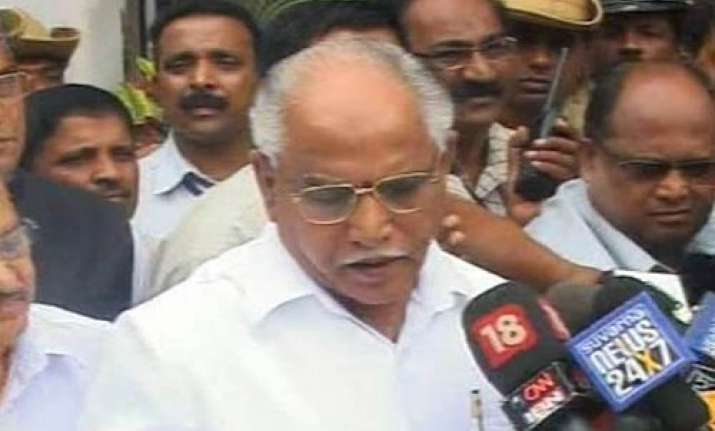 did nothing wrong why should i quit yeddyurappa