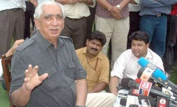 jaswant can t be forced out as pac chairman says speaker