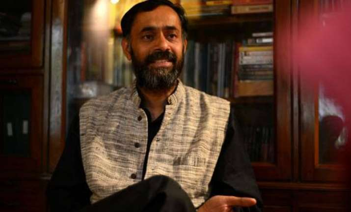 yogendra yadav and aap to part ways