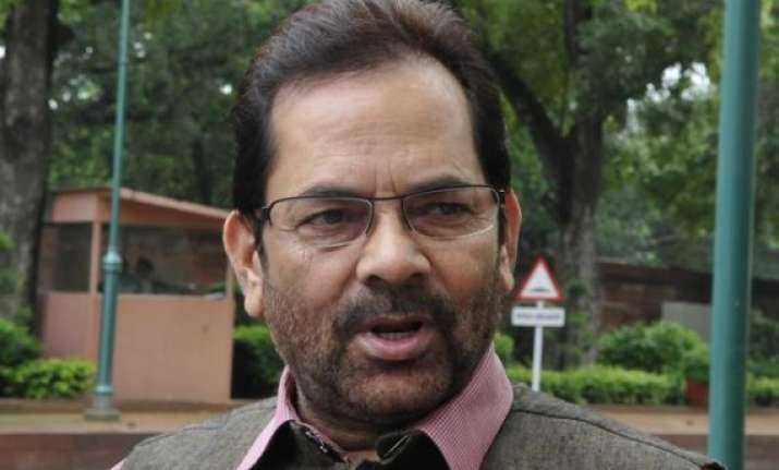 congress kept muslims away from progress naqvi
