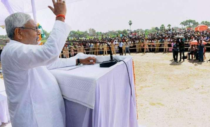 bihar polls ready to debate on reservation nitish kumar
