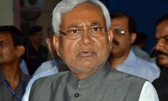 nitish kumar gives zero marks to nda government s one year