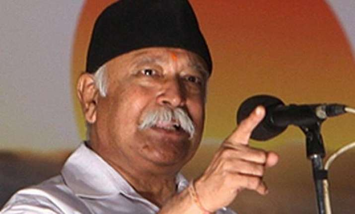 mohan bhagwat pitches for societal unity