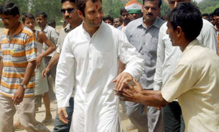 india s real strength is in its villages says rahul gandhi