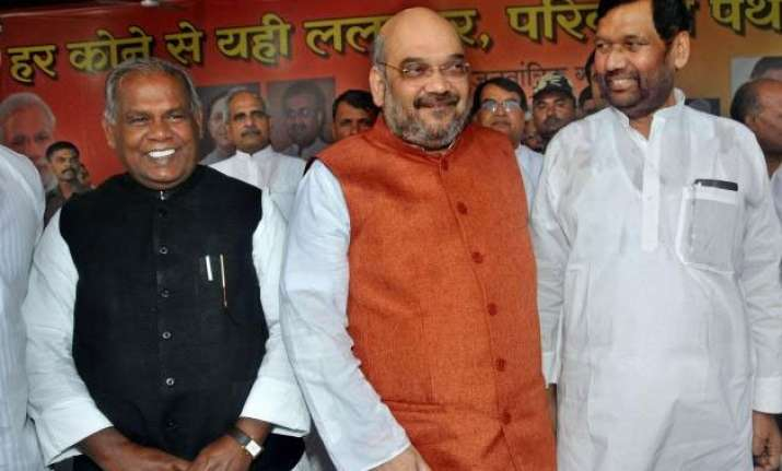 bihar polls bjp to meet allies today to discuss seat sharing