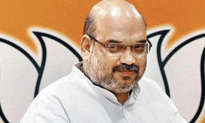 after rss warning amit shah to meet party workers twice a
