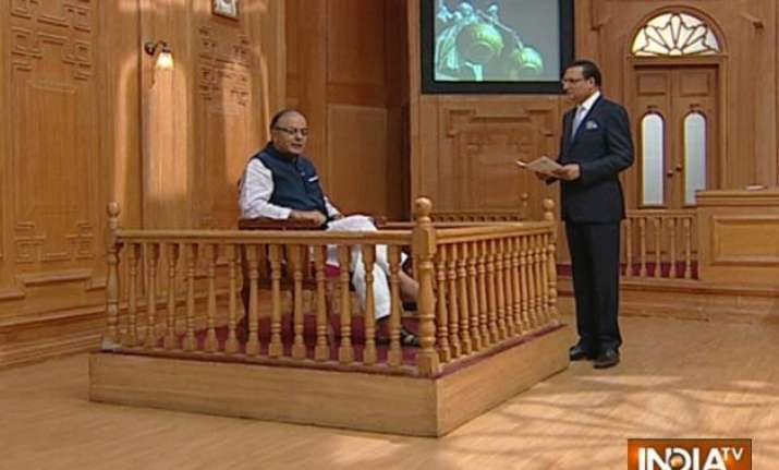 narendra modi is a hands on prime minister arun jaitley