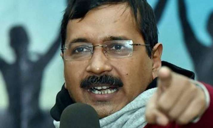 arvind kejriwal slams modi govt in kanhaiya style demands