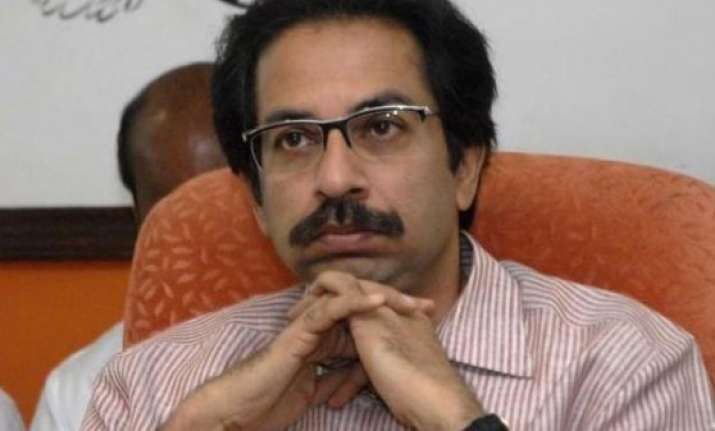 sena mla slaps cop guarding uddhav thackeray