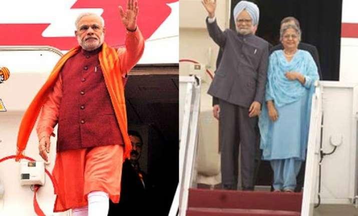 narendra modi vs manmohan singh both global roamers