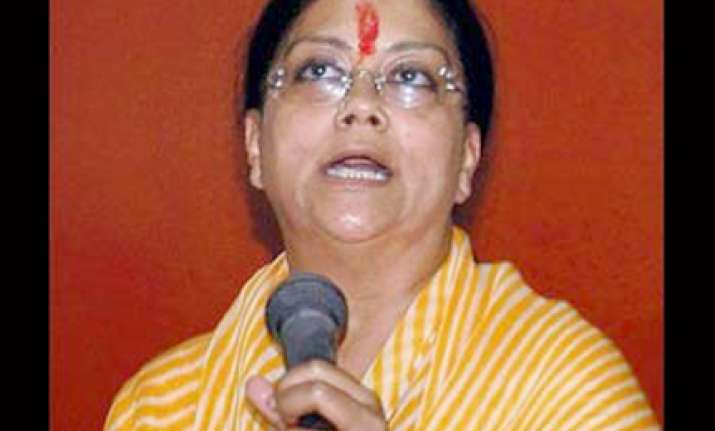 bjp parliamentary board fails to take decision on raje