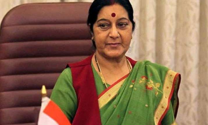 keeping up connect with arab world sushma swaraj to visit