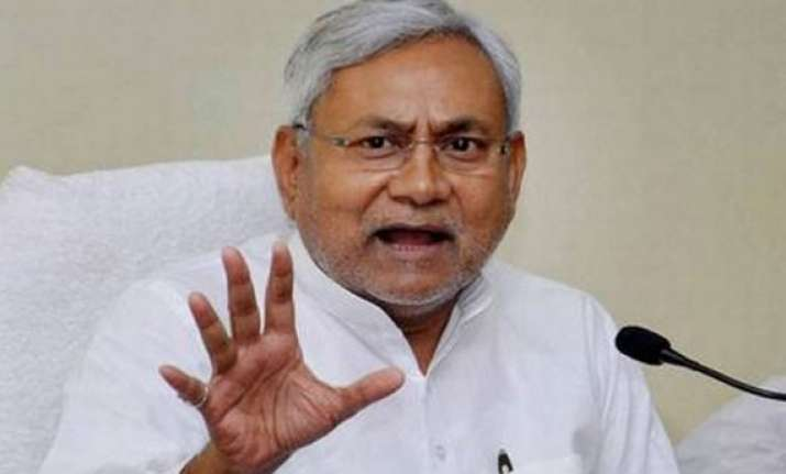 not running away from taking responsibility nitish