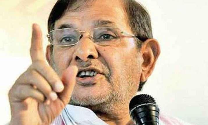 my papa hasn t done anything wrong says sharad yadav s