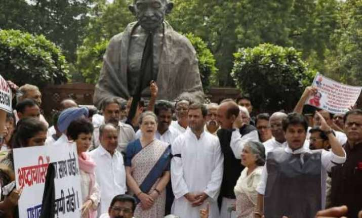 congress to continue its agitation against modi government