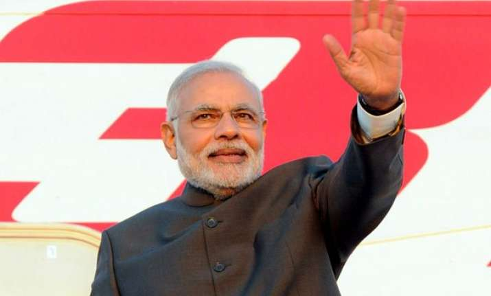 pm modi to embark on three nation tour today first stop