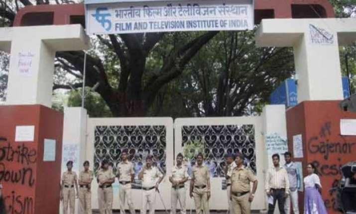anti hindu elements opposing gajendra chauhan s appointment