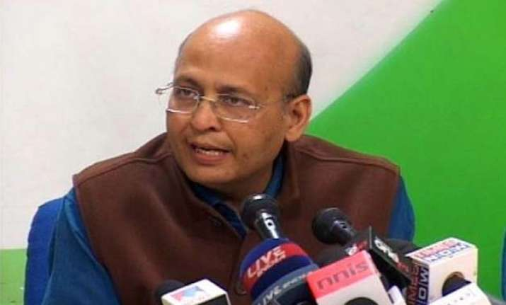 congress attacks govt on recommendation of rss men for