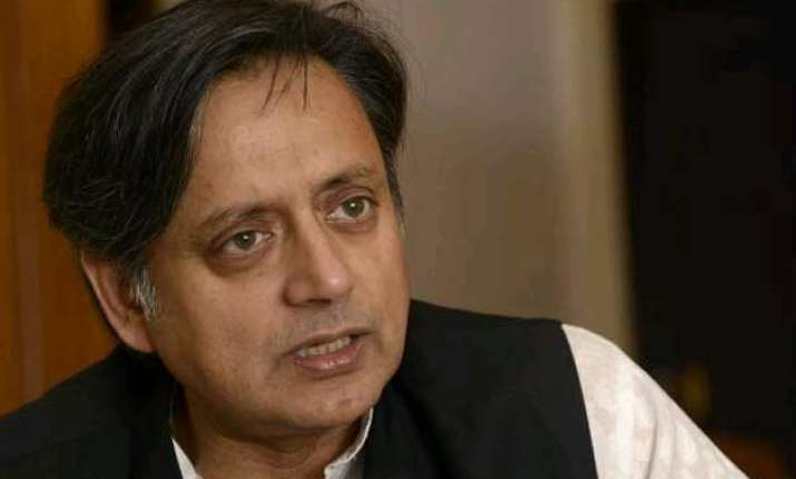 was taken aback by modi s congratulatory tweet tharoor