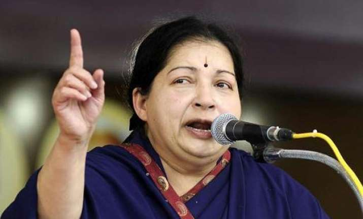 jayalalithaa picks up poll gauntlet early asks cadres to go