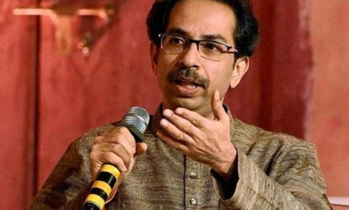 maharashtra polls uddhav thackeray frowns at modi rallies