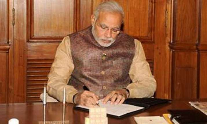 pm modi to review implementation status of cabinet decisions