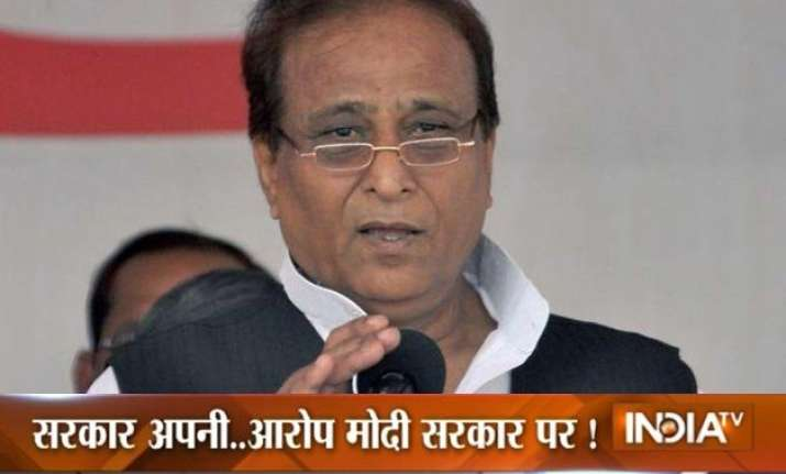 azam khan blames pm modi for dadri lynching incident