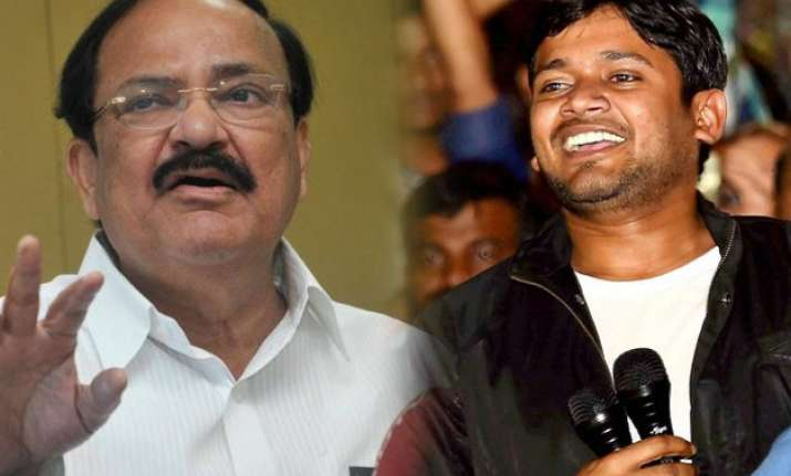 kanhaiya free to join politics and save his party venkaiah