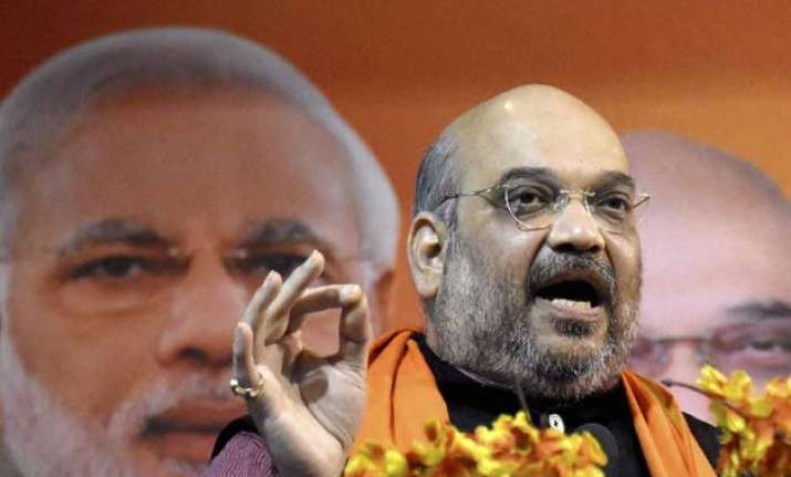 amit shah slams nitish over bribery video dares to name