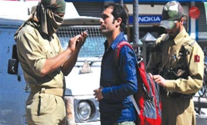 police crackdown on separatists in poll bound j k