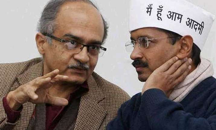 will meet soon replies kejriwal to bhushan