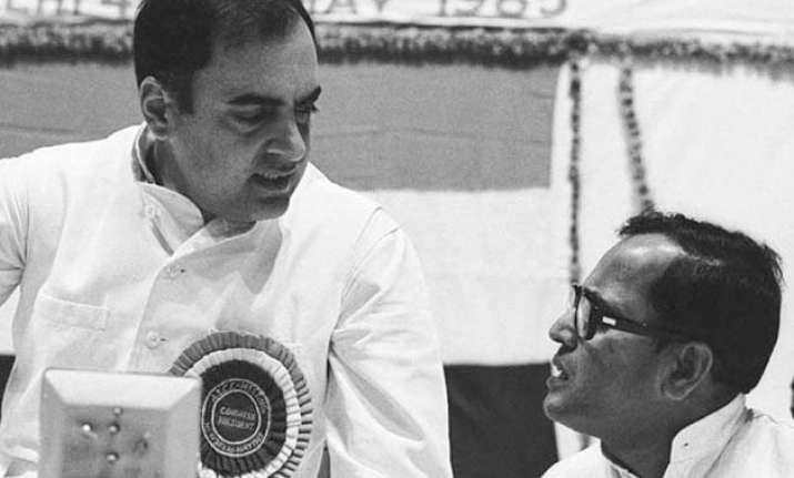 pranab mukherjee recalls how rajiv gandhi was made pm after