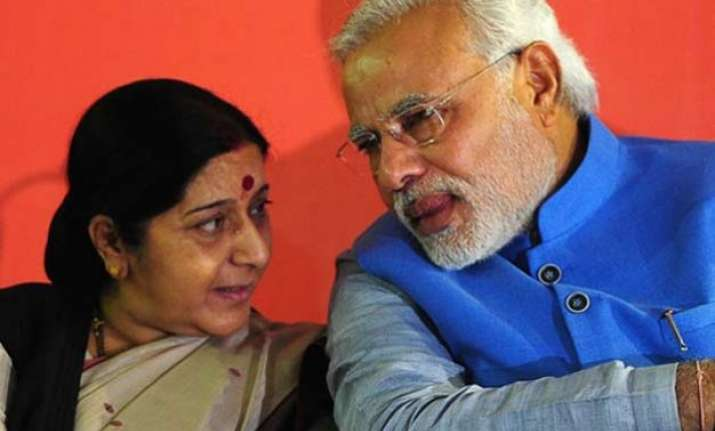 pm modi is among the top leaders of the world sushma swaraj