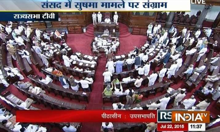 both houses adjourned till tomorrow after uproar over