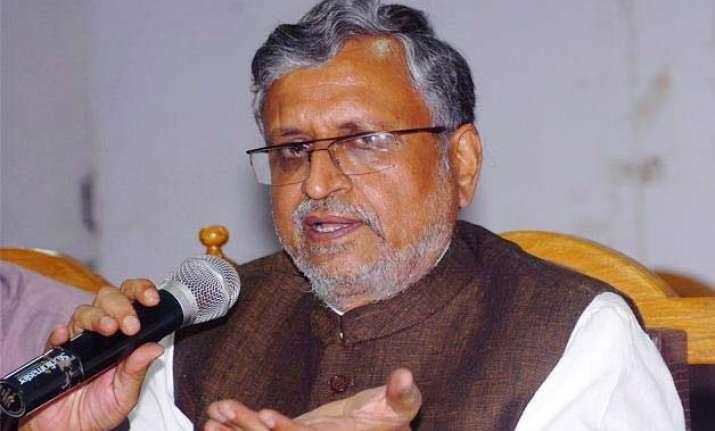 bjp smells scam in badh chala bihar campaign in bihar