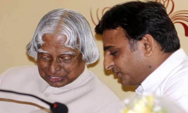akhilesh yadav invites suggestions from apj abdul kalam on