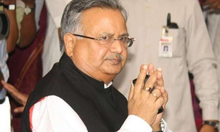 chhattisgarh cm strongly condemns maoist attack in dantewada