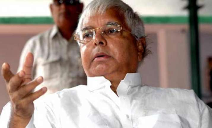 rjd national executive reposes faith in lalu prasad