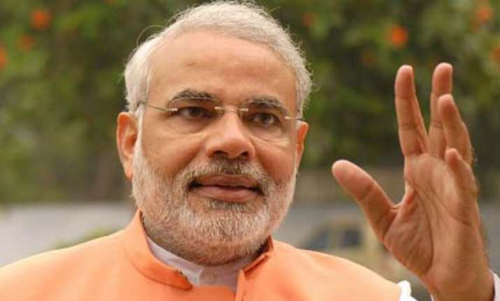 high on civic poll win in gujarat modi blasts congress