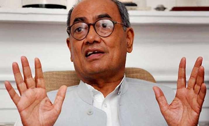 digvijay rules out changing karnataka cm