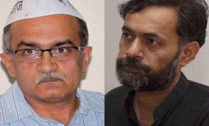 yogendra yadav prashant bhushan to launch political party